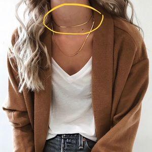 ELLANDEM XL Golden Strand Necklace